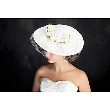 Tüll Flachs Spitze Fascinators Kopfstück klassischen femininen Stil