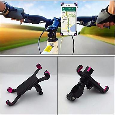 Montura de Teléfono para Bicicleta Portátil Ciclismo Recreacional / Ciclismo / Bicicleta / Mujer ABS Negro / Rosa - 1 pcs