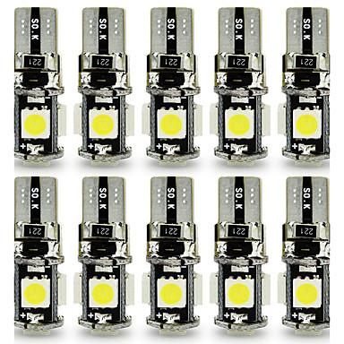10 Stück T10 Auto Leuchtbirnen 3 W SMD 5050 120 lm 5 LED Blinkleuchte For Universal