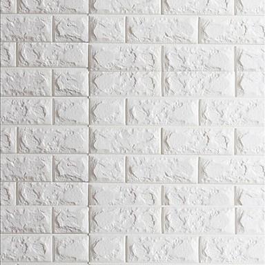 3d decora o para casa moderna revestimento de paredes for Placas pvc para paredes