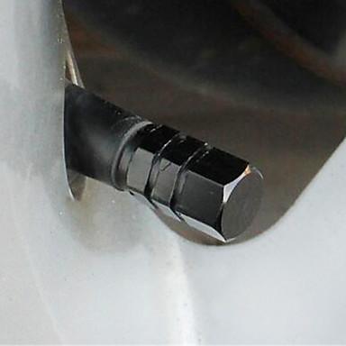 aluminium automobile bouchon de valve vide noyau bouchon pneumatique valve capuchon 4 installé