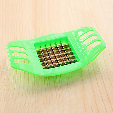 1 Easy Cut / Kreative Küche Gadget Edelstahl / Plastik Obst & Gemüse - Schneider