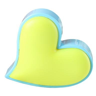 לנו תקע אהבה יצירתי בצורת לב מנורת לילה אור שליטה