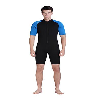 SBART Homme Costumes humides Combinaison Courte Résistant aux ultraviolets Respirable Compression Coque Intégrale Tactel Tenue de plongée