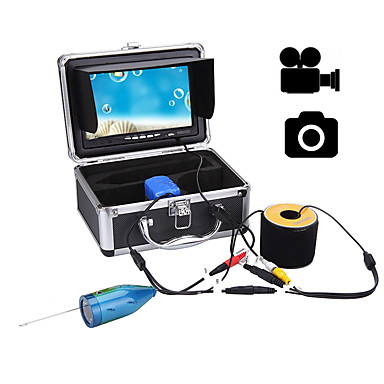 cheap Fish Finder-Fish Finder 177.8 mm LCD 50 m Underwater Waterproof High Resolution Sea Fishing Ice Fishing
