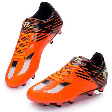 Ailema® Fußballschuhe Stollenschuhe Sneaker Herrn Kinder Polsterung Atmungsaktiv Wasserdicht Training Rasen Fussball