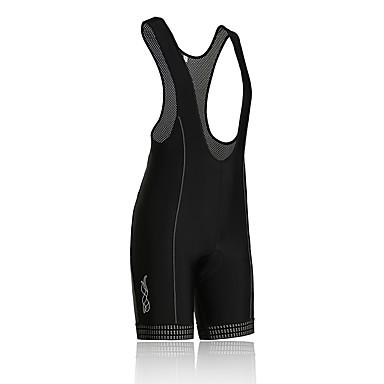 SPAKCT Shorts med seler til sykning Herre Sykkel Bunner Fort Tørring Pustende 3D Pute Refleksbånd Nylon Spandex Klassisk Sport Sommer Høst