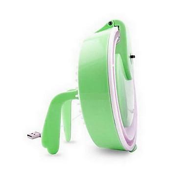 vert créatif multifonction bureau usb ventilateur de la lampe de nuit lumière de la lampe
