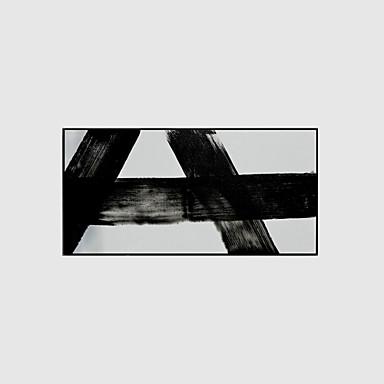 Handgemalte Abstrakt Horizontal, Modern Segeltuch Hang-Ölgemälde Haus Dekoration Drei Paneele