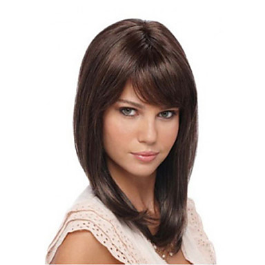 Straight Bangs Fringe 0.03kg Synthetic Hair Hair Piece Hair Extension Straight