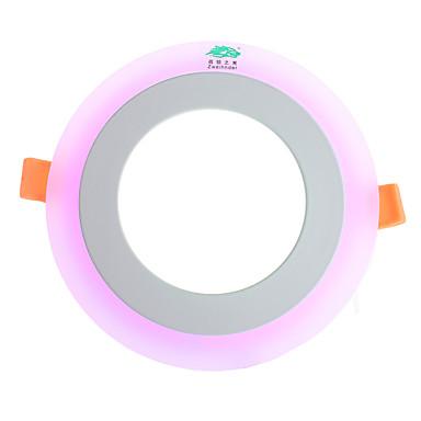 6W Plafonniers 5500-6500K lm Blanc Naturel / Violet SMD 2835 Gradable / Décorative / Etanches AC 85-265 V 1 pièces