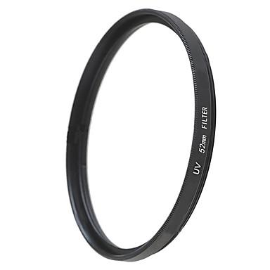 emoblitz 52mm uv ultrafiolett beskytter objektivet filter svart