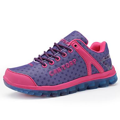 נעלי טיולי הרים נעלי ריצה יוניסקס נגד החלקה Anti-Shake טבע רשת נושמת פוליאסטר בטבע