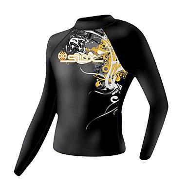 SLINX® לגברים חליפות רטובות חליפת צלילה למעלה עמיד אולטרה סגול דחיסה טאקטל LYCRA® חליפת צלילה שרוול ארוך חליפות צלילה-צלילה שנרקול