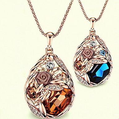 נשים שרשראות תליון סגסוגת אופנתי תכשיטים עבור יומי קזו'אל