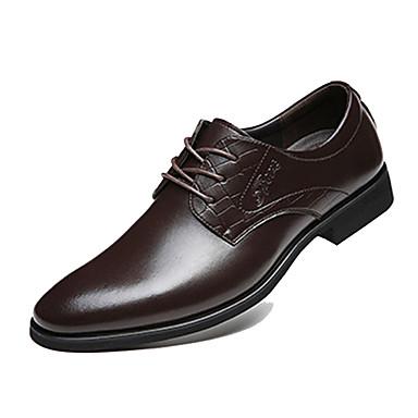 Alkalmi / Party és Estélyi Férfi cipő Bőr Félcipők Fekete / Barna