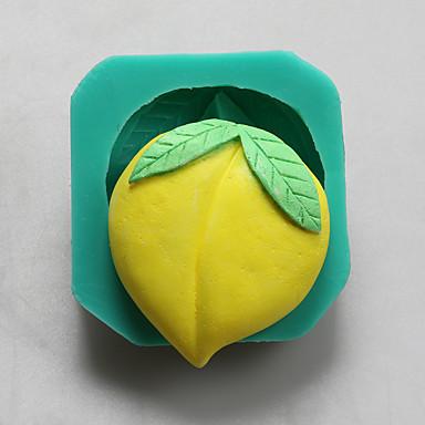 Moule de Cuisson Fruit Cartoon 3D Chocolat Tarte Petit gâteau Gâteau Silicone Economique A Faire Soi-Même Papier à cuire