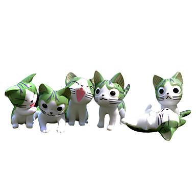 Figures Animé Action Inspiré par Cosplay Cosplay PVC 4 CM Jouets modèle Jouets DIY