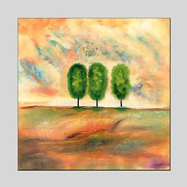 מצויר ביד פרחוני/בוטני מודרני,פנל אחד בד ציור שמן צבוע-Hang