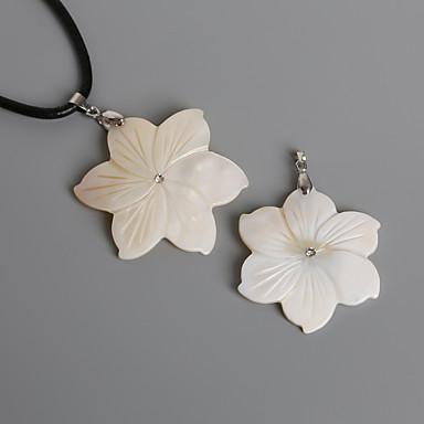 תליונים ציפוי Flower Shape כתמונה 1Pc