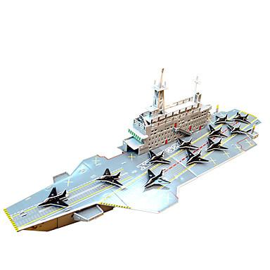 voordelige 3D-puzzels-Modelbouwsets / Educatief speelgoed Oorlogsschip professioneel niveau Papier / EPS 120 pcs Geschenk