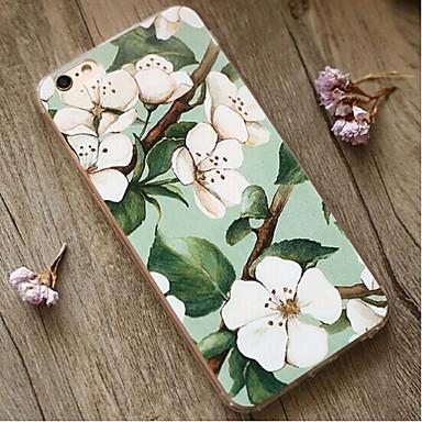 Für Hüllen Cover Stoßresistent Rückseitenabdeckung Hülle Blume Weich TPU für Apple iPhone 6s Plus iPhone 6 Plus iPhone 6s iPhone 6