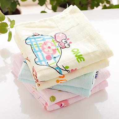 Frischer Stil Waschtuch,Reaktiver Druck Gehobene Qualität 100% Baumwolle Handtuch