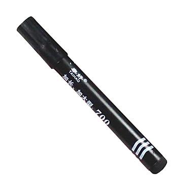 Stylo Stylo Stylos gel Stylo Baril Noir Couleurs d'encre For Fournitures scolaires Fournitures de bureau Paquet