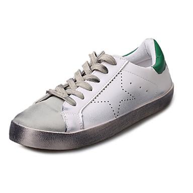 kvinners sko pu vår / sommer / høst wedges mote joggesko utendørs / atle