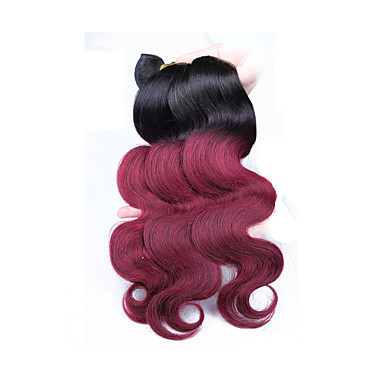 Indian Ombre Hair Weaves Body Wave Hair Extensions
