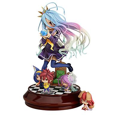 Anime Toimintahahmot Innoittamana Ei Game No Life Shiro PVC 20 cm CM Malli lelut Doll Toy
