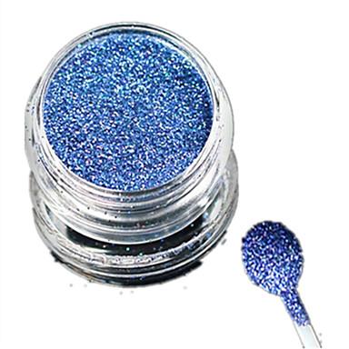 1 מסמר תכשיטים גליטר ופודר פודרה גליטרים קלסי Glitter & Sparkle אוֹר חתונה איכות גבוהה יומי