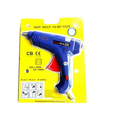 スイッチ、インジケータライトブルーの大きなホットメルト接着剤銃高価格低量が優遇であります