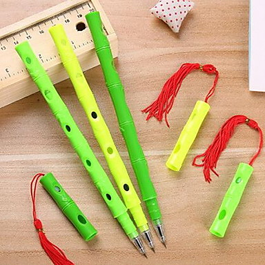 Bolígrafo Bolígrafo Barril colores de tinta For Suministros de la escuela Material de oficina Paquete de