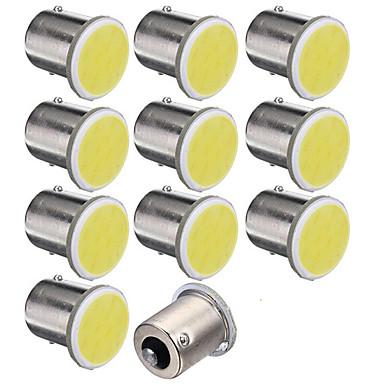 10pcs 1,156 מכונית נורות תאורה 1.5W COB 12 אור אחורי For אוניברסלי