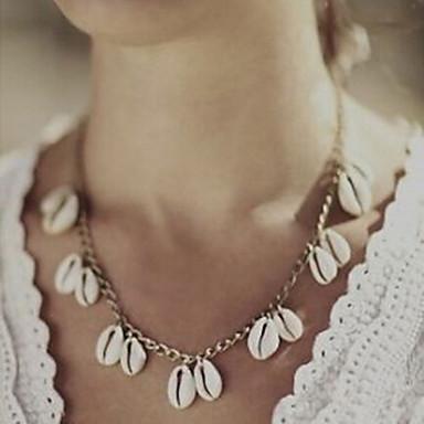 Damen Anhängerketten - Retro Niedlich Party Freizeit Modisch Silber Golden Modische Halsketten Für Party Alltag Normal