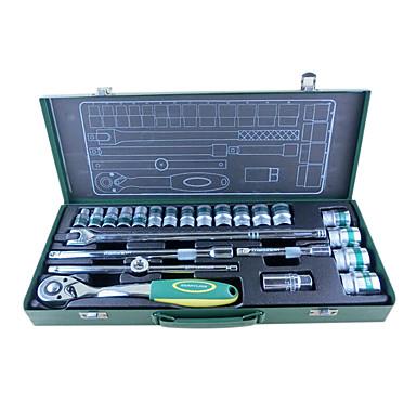 berrylion® 24 lastebil Sett Pipenøkkelsett skiftenøkkel verktøysett sette auto Reparasjonssett