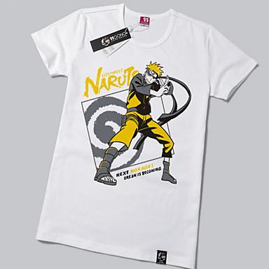 קיבל השראה מ Naruto Naruto Uzumaki אנימה תחפושות קוספליי חולצות קוספליי / תחתון דפוס שרוולים קצרים טי שירט עבור יוניסקס