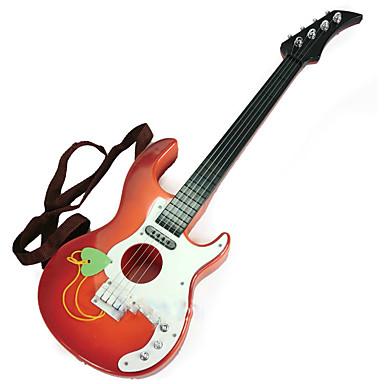 Guitarra Brinquedo Educativo Instrumento Musical de Brinquedo Instrumentos Musicais Simulação Crianças