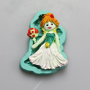 Moule de Cuisson Cartoon 3D Pour Gâteau Pour Cookie For Chocolate Pour Tarte Silikon Mariage Bricolage Ecologique