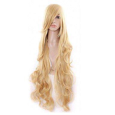 Synthetic Hair Wigs Curly Capless Very Long