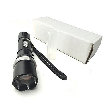 פנס LED LED 300 Lumens 3 מצב Cree Q5 18650 AAA מיקוד מתכוונן נטענת עמיד במים מחנאות/צעידות/טיולי מערות שימוש יומיומי חוץ