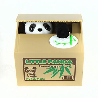 Huchas Itazura Alcancia Hucha tragamonedas Hucha Hucha de juguete Juguetes Bonito Eléctrico Cuadrado Oso Panda El plastico Piezas Regalo