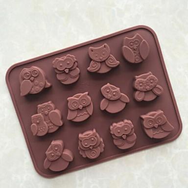 Ferramentas bakeware Silicone Aniversário / Faça Você Mesmo Bolo / Cupcake / Torta Animal Molde