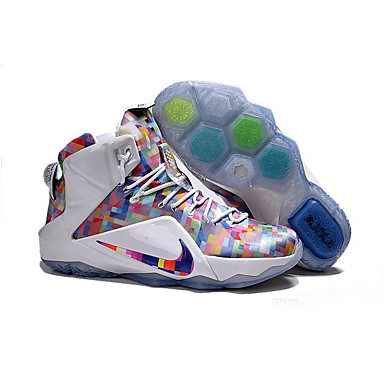 a6748929c7d5 Men s Lebron 12 XII Ext Prism Finish Your Breakfast LEBRON 12 LBJ 12 Lebron  James Basketball Shoes Sneakers 5091546 2019 –  99.99