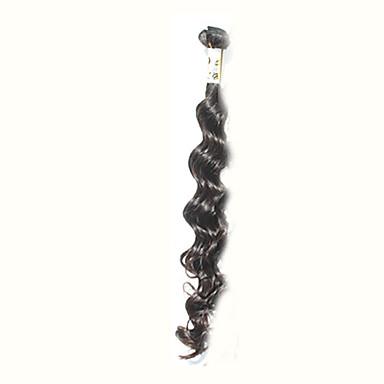 Brasilialainen Syvät aallot Aidot hiukset Hiukset kutoo Hiukset kutoo Hiukset Extensions