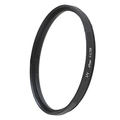 emoblitz 49 milímetros uv ultra-violeta lente filtro protetor preto