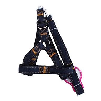 Hund Geschirre Leinen Regolabile / Einziehbar Solide Textil Schwarz Rot Blau