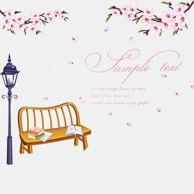 Botanisk / Ord & Citater / Romantik / Still Life / Mote / Blomster / Højtid / fritid Wall Stickers Fly vægklistermærkerDekorative Mur