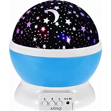1 Pça. Sky Projector NightLight USB Bateria Recarregável Regulável